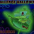 A dark dark tale ... ruth brown - challenge halloween - challenge geek semaine spéciale halloween