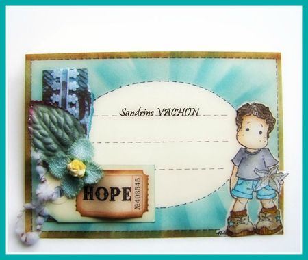 Mail Art Magnolia HOPE - 8