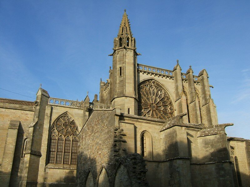 Carcassonne - La Cité - La cathédrale