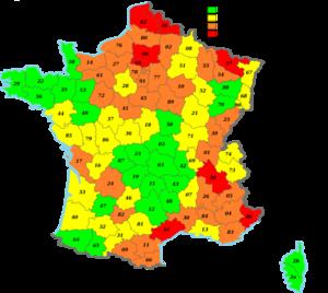 Durete_de_l'eau_en_France