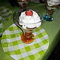 Verrine fraises spéculoos chantilly vanille