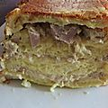 Croque cake au thon