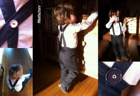 pantalon bretelles noir