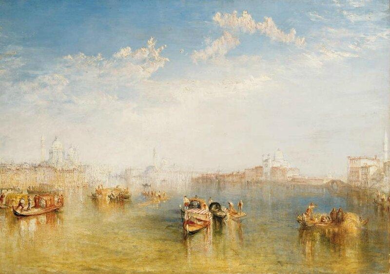 Joseph Mallord William Turner, Giudecca, La Donna della Salute and San Giorgio, Private collection