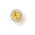 A yellow sapphire and diamond clip-brooch/pendant & a ring, van cleef & arpels