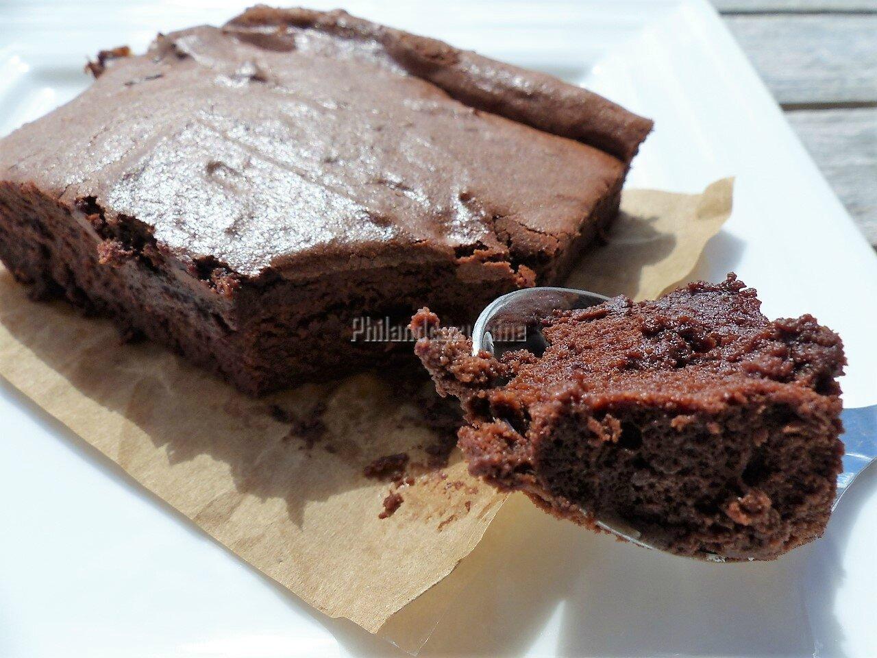 Fondant au chocolat à la crème fraîche (sans gluten)