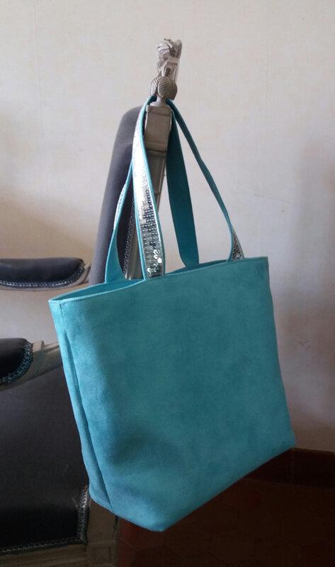 Sac turquoise
