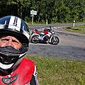 Un bon mois de juillet pour deux de mes passions: la nage avec palmes et la moto
