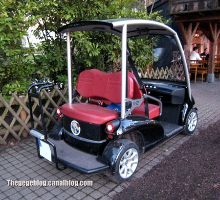 Garia luxury golf car (Europapark) 02
