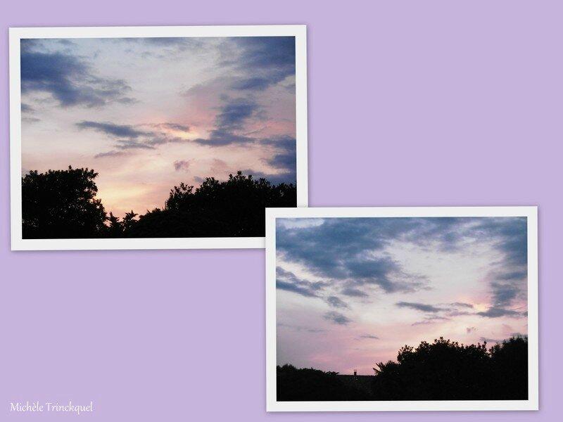 1-Lever de soleil et Milan noir 220717