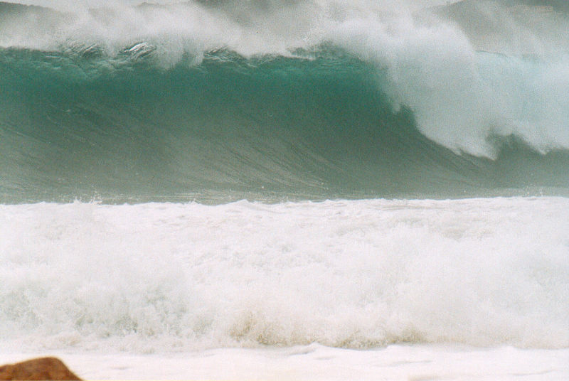 Avalanche sur Porti Poddu , Swell Sud-Ouest ...