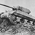 Tank destroyer m10 wolverine. chasseur de chars.