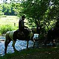 balade equestre gastronomique à La Lucerne d'Outremer (58)
