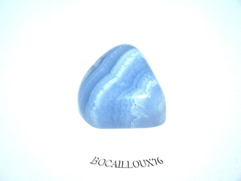 CALCEDOINE Bleue 4 Polie (2)