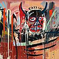 Basquiat sets artist record at christie's new york sale at $57.3 million