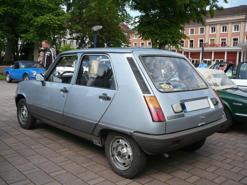 RENAULT 5 GTL carrosserie 5 portes Niederbronn (2)