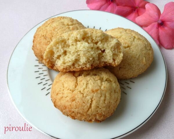 biscuits au coco