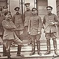 SAINS DU NORD-Officiers allemands 1917