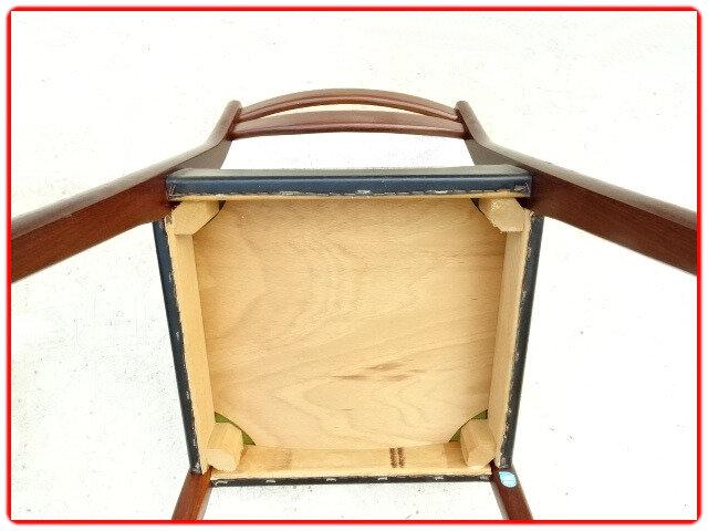 chaises scandinave palissandre