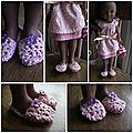 Défi crochet #5 - les chaussons...