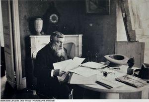 Rodin dans le salon