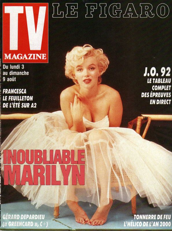 TV Magazine Le Figaro 1992