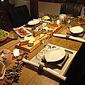 Bonjour, petite table autour du fromage... bonne
