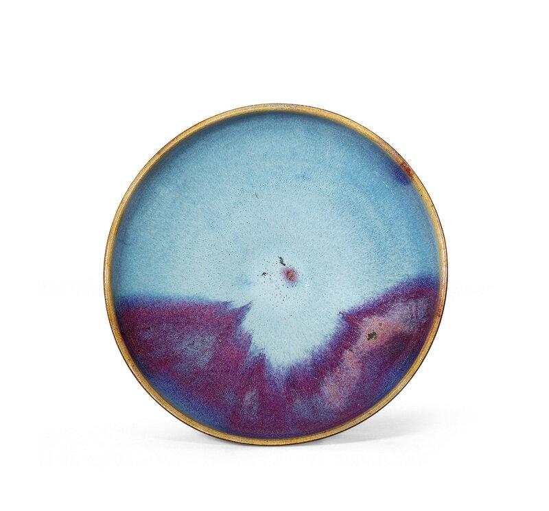 A Jun purple-splashed bowl, Jin-Yuan Dynasty (1115-1368)