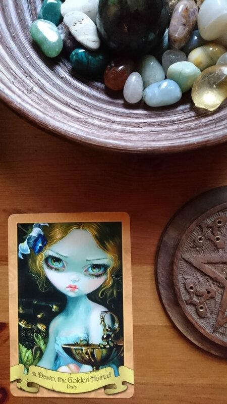 L'oracle du Jour : La Belle aux Cheveux d 'Or