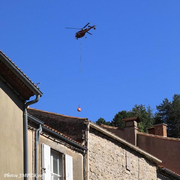 Photos JMP©Koufra 12 - Le Caylar Mouton Héliportage Alouette III - 20062018 - 584