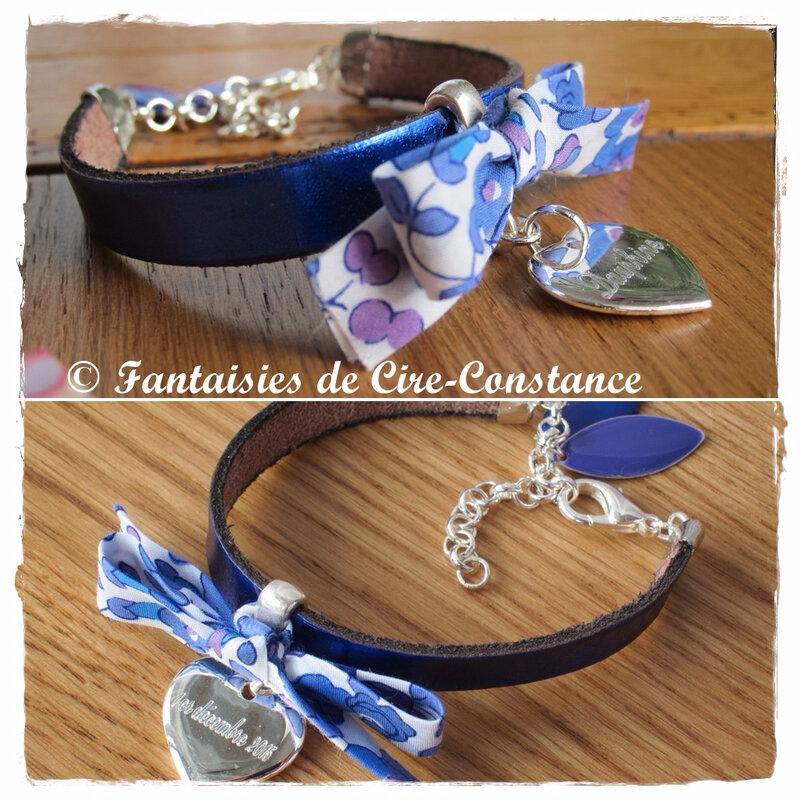 Bracelets Diane médailles gravées-5