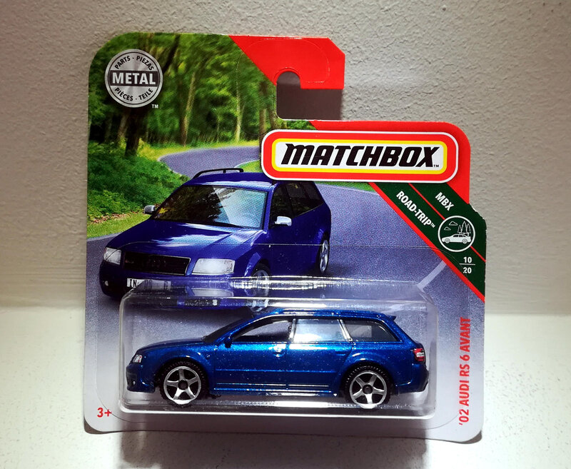 Audi RS6 Avant de 2002 (Matchbox)
