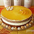 Bavarois orange chocolat : deux versions avec ou sans gluten pour pessah