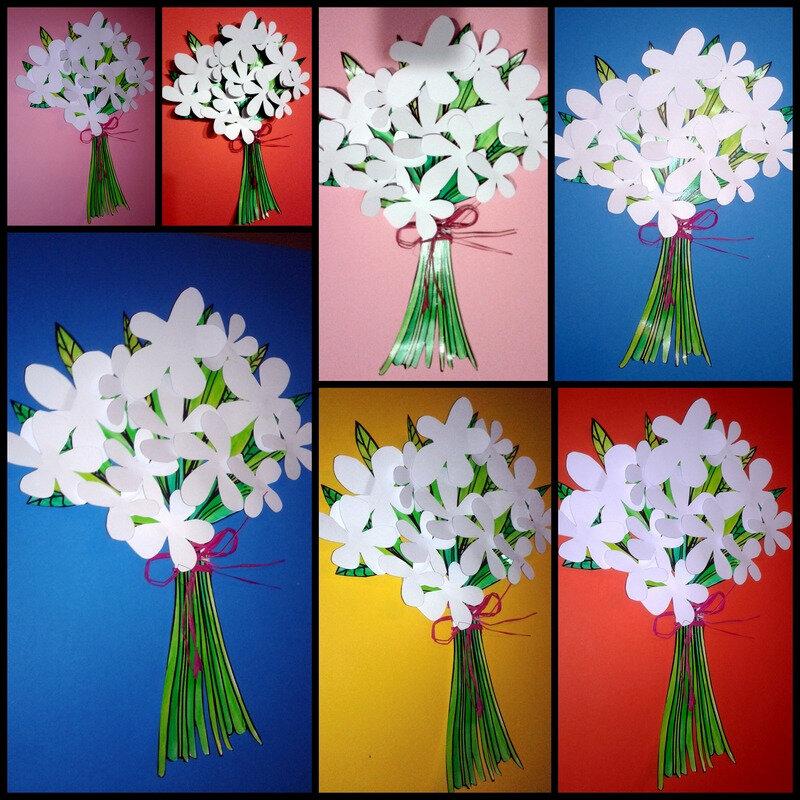 86_Fleurs_Bouquet de printemps(montage fl bl)