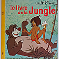 Livre collection ... le livre de la jungle (1969) * albums roses