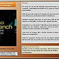 Nicci french : sourire en coin