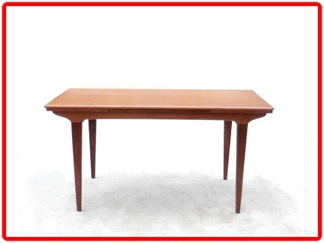 table en teck vintage scandinave années 1960 (1)