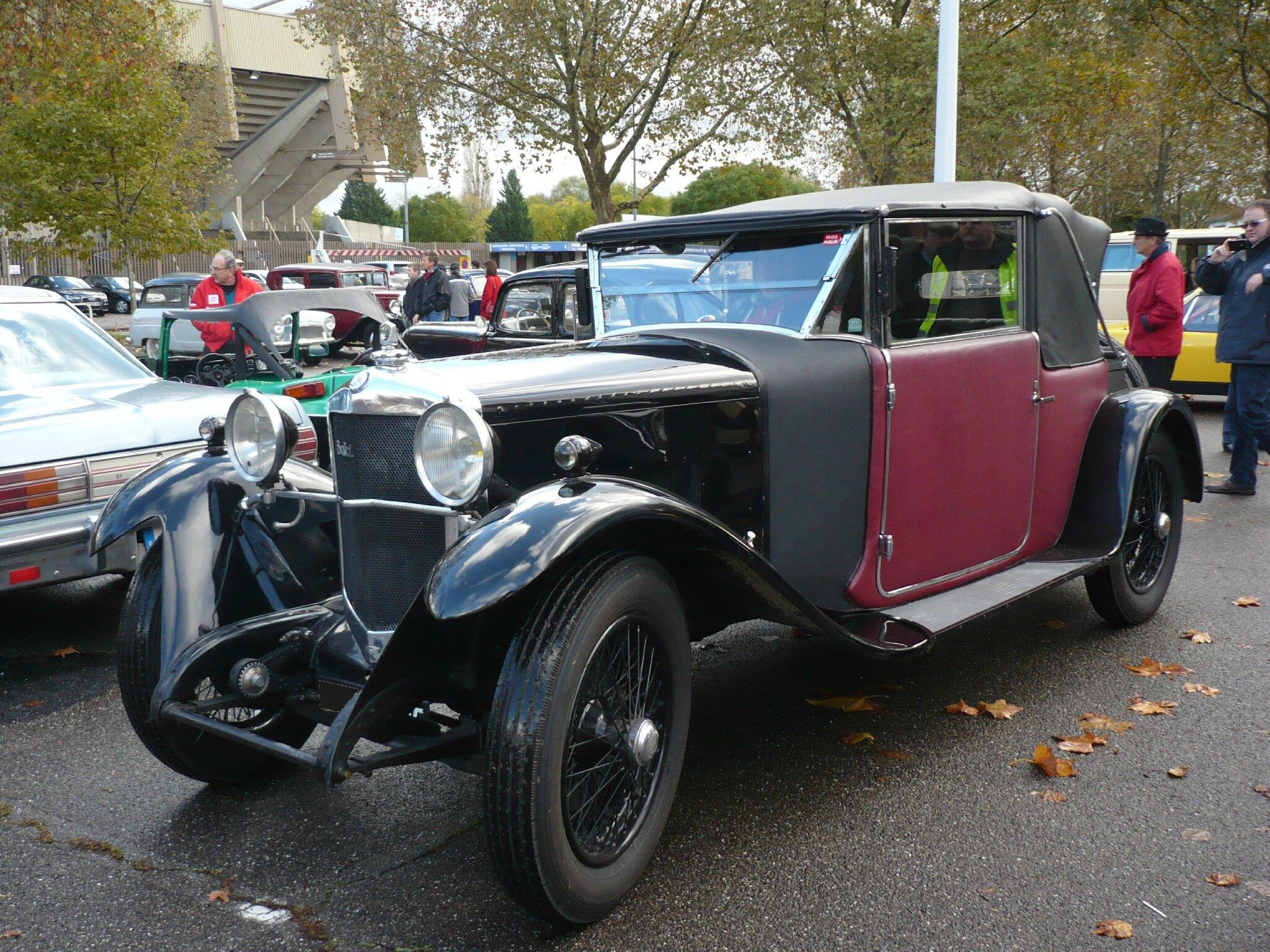 BALLOT 2LTS cabriolet Figoni 1927 Strasbourg (1)