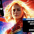 Movie and draw captain marvel