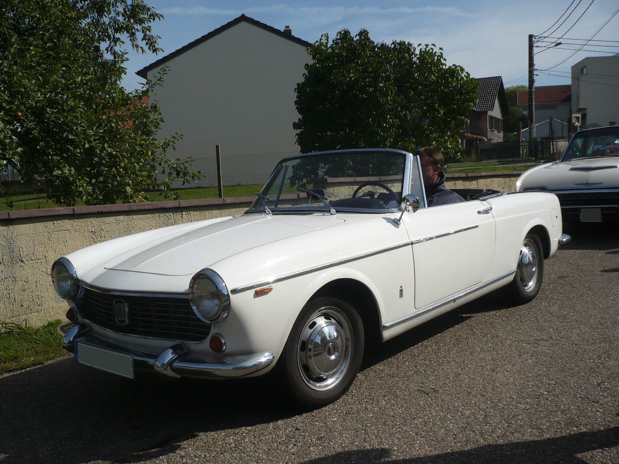 FIAT 1500 cabriolet 1963 Hambach (1)