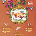 Festival parfums de musiques au théâtre de verdure de la roseraie du val-de-marne