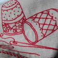 Pochette à couture