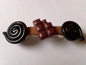 pince réglisses et chocolat