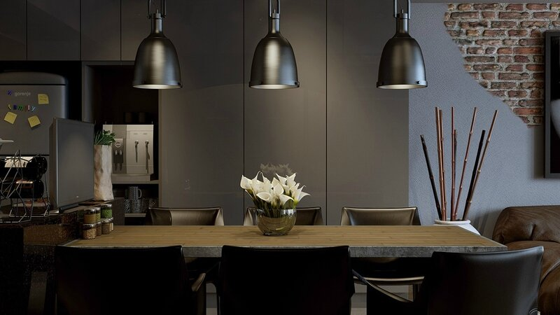 sleek-dining-room