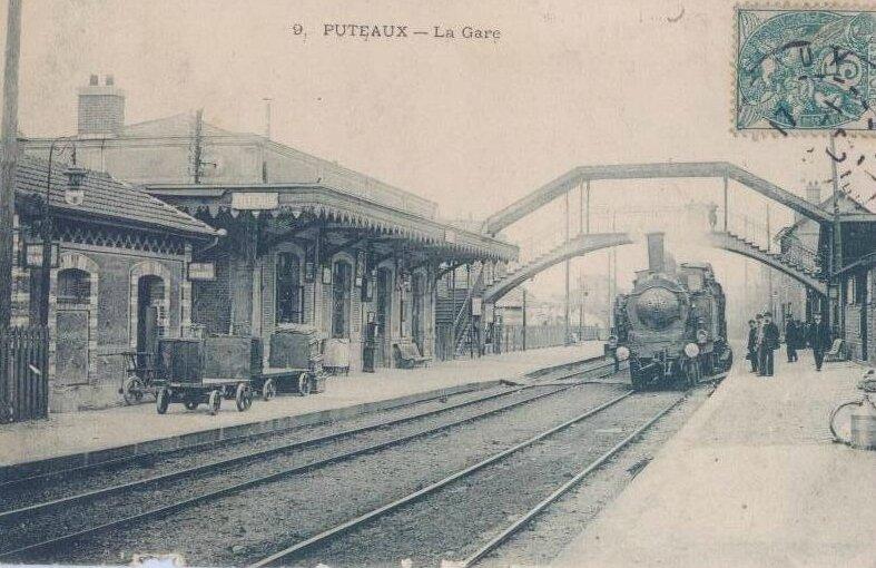 1914-05-31 la gare de Puteaux 2