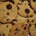 Cookies à la pâte de pistache et pépites de chocolat