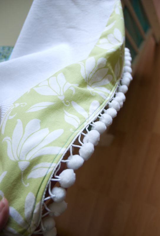 A Diy Aqua Green Crib Bumper And A Matching Blanket Tour De Lit