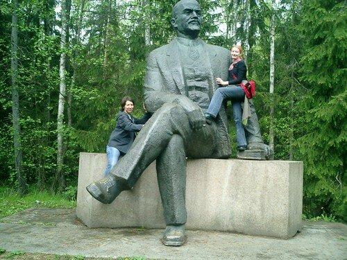 dans les bras de Lénine
