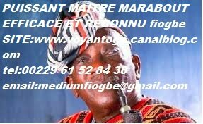 PUISSANT MAITRE MARABOUT FIOGBE