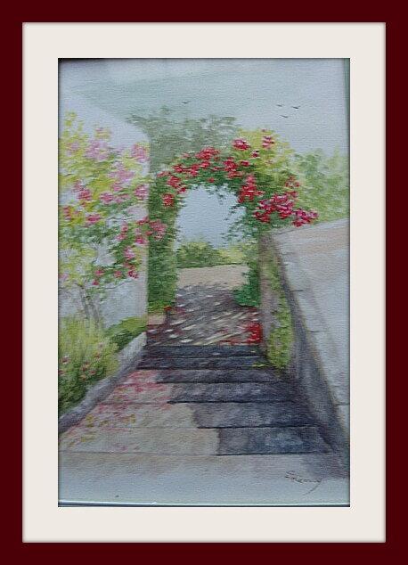 Escalier à Chênehutte